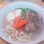 シーサイドカフェガキヤ - 料理写真:沖縄そば