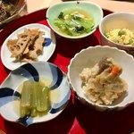 旬菜 いまり - おばんざい盛り合わせ5種