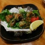 天馬 - 岩牡蠣の葱バター焼き タブン