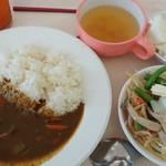 カフェテリアふじ - 牛すじカレー 610円