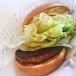 モスバーガー - クリームチーズテリヤキバーガー(390円)