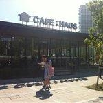 CAFE;HAUS - ガラス張りのオシャレな外観
