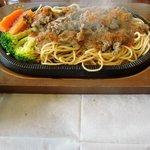Gurumefuugetsu - 「ビーフバター焼きの洋食セット」 930円。