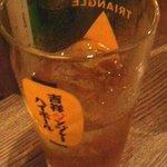 ハモター酒場 - 辛口ハイボール ¥500 おいしいです。
