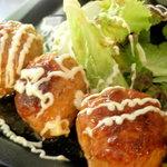 トライアングル - 肉団子と餡かけマヨネーズ