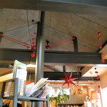 トライアングル - 店内の天井の装飾