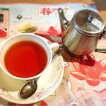 さわやか - 紅茶もつけました。