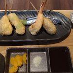 串揚げと和食 もりもと  - 串揚げランチ