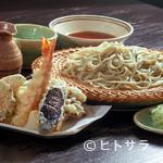 いちぶん - 揚げたての天ぷらと蕎麦が絶妙な『天せいろ』