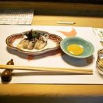 英ちゃん冨久鮓 - 鳥貝 酢味噌