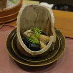 分田上 - 料理写真:筍の若竹煮