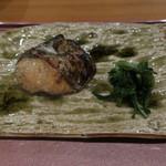 分田上 - 鰆の幽庵焼き 春菊と1