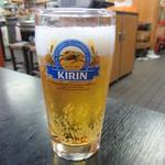 白頭山 - 生ビール 100円