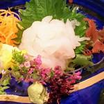 86042371 - 富山産 白海老の刺身