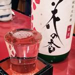 海賓亭 - 熊本 花の香酒造 花の香