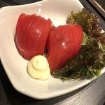 笑元 - 冷しトマト