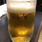 笑元 - 生ビール