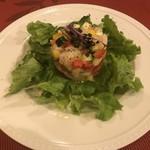 キャトル フィーユ - タイと野菜のコロコロサラダ