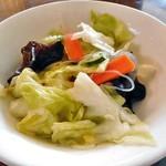 カラバト・カリー - サラダ