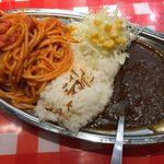 スパゲティーのパンチョ - 「カレーwithナポ」900円(期間限定850円)