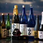 スマイリーネプチューン - ドリンク写真:神戸市東灘区に蔵元を構える櫻正宗、沢の鶴、西宮市の白鶴など、地元兵庫県内の地酒を取り揃えております