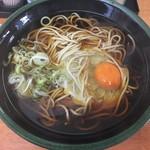 立ち食いそば 絆 - 料理写真:月見そば(¥350)