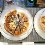 デリ&カフェ ドルチェヴィータ - とろふわで濃厚な自家製キッシュ