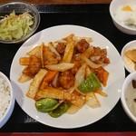 中華料理 西遊記 - 酢豚定食