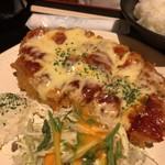 つかさ亭 - イタリアンチキンカツ定食 ¥880