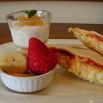 たなか - 料理写真:ホットサンド 想いやり食パン使用