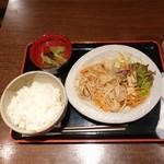 がらく - 豚肉の生姜焼きランチ780円
