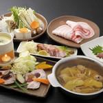豚料理専門店 銀呈 - 銀呈フルコース