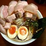 麺食堂 88 - 特製中華そば(140g)+チャーシュー増し