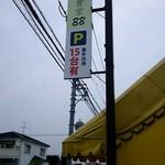 麺食堂 88 - 駐車場の案内