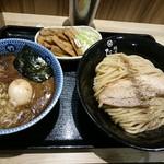 86061774 - 味玉つけ麺 並と自家製メンマ