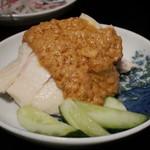 86061956 - 蒸し鶏の胡麻ソース 棒々鶏
