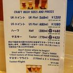LBK CRAFT - クラフトビールのサイズ紹介。