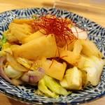 LBK CRAFT - 筍と新玉葱、春キャベツのガーリックソテー♪これ僕のお気に入りメニューです♡