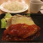 ジョイフル - チキンイタリアンステーキ+セットライス+ジョイカフェ 計925円