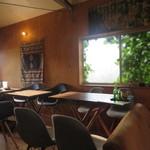 キャリー焼菓子店 - 2階カフェスペース