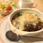ジョイフル - カレードリア+スナックドリンク付セット 計926円