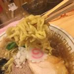86067736 - 凪さんと同じ手揉み平打ち麺