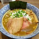 煮干しつけ麺 宮元 - 料理写真:極上濃厚煮干しそば 780円