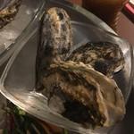 牡蠣と肉 KAKIMASA - 牡蠣大好きセット(蒸牡蠣)