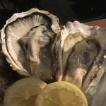 牡蠣と肉 KAKIMASA - 牡蠣大好きセット(生牡蠣)