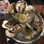 牡蠣と肉 KAKIMASA - 牡蠣大好きセット