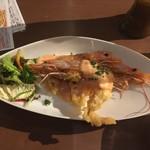 牡蠣と肉 KAKIMASA - 海老マヨ 680円