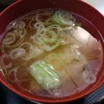 揚葉 - 味噌汁