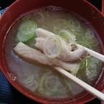 揚葉 - 白身魚から出汁がでている。