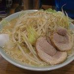 麺家 浜風 - 野菜ラーメン大盛り900円